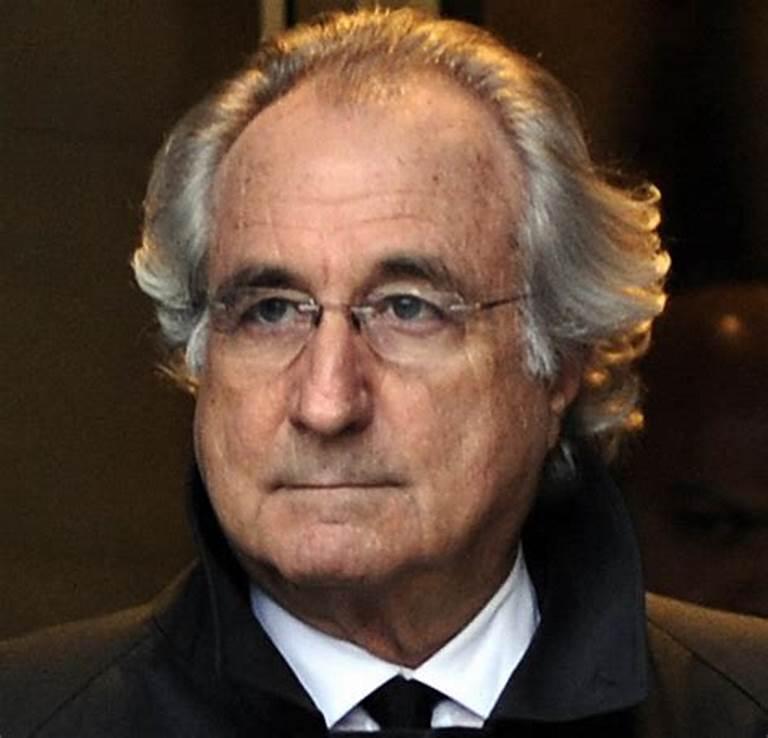 Bernand Madoff, banchiere truffatore